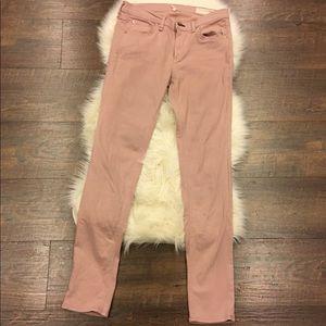 Rag and Bone pink skinny jeans size 29